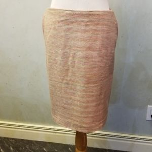 LOFT factory tweed pencil skirt (R14)